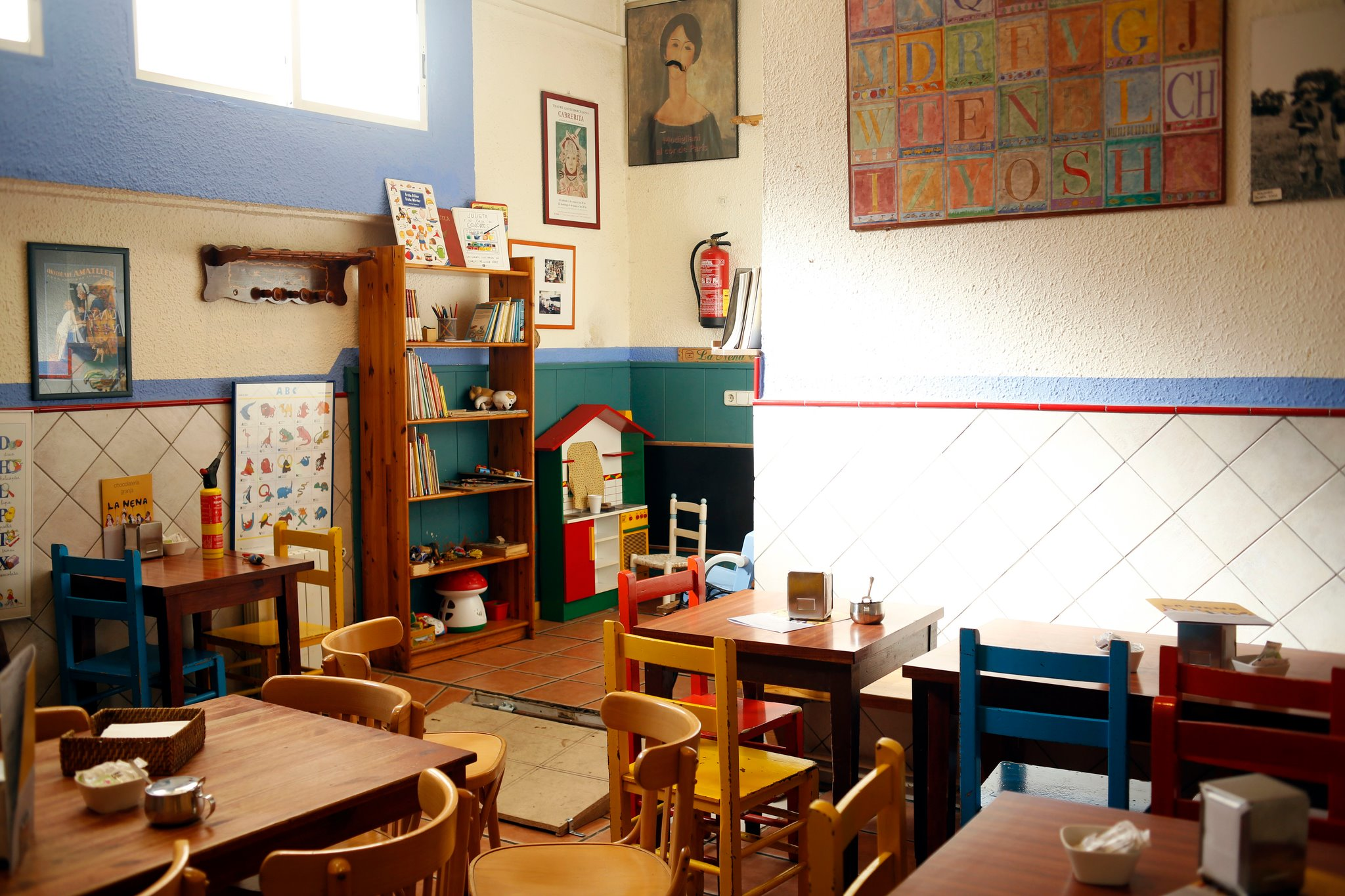 Child Friendly Restaurants In Barcelona ~ Restaurant Semproniana Barcelona