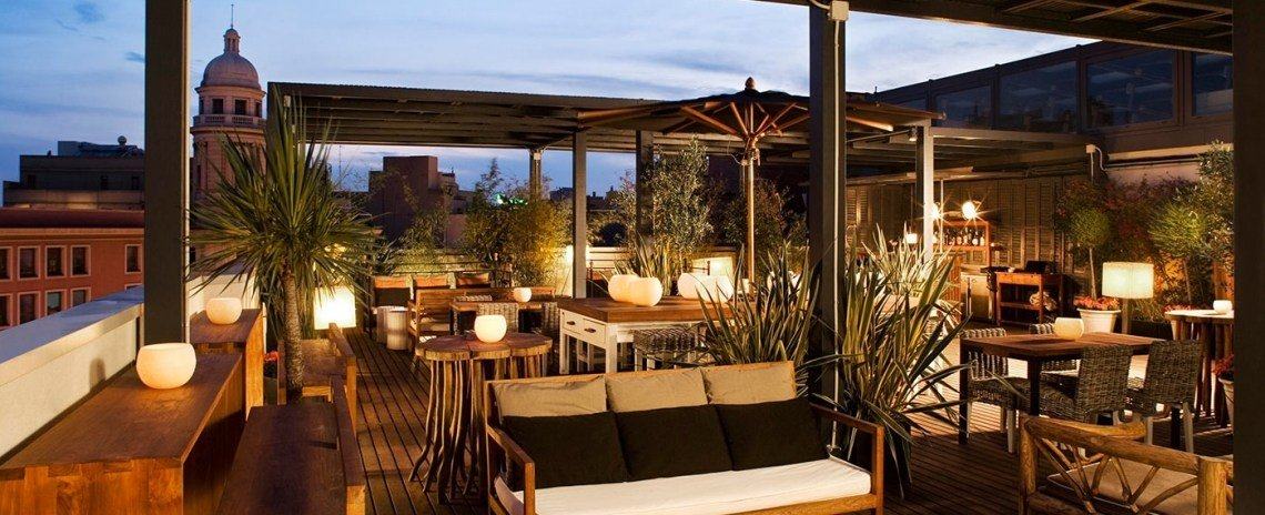 the best of barcelona rooftop bars with music sessions. Black Bedroom Furniture Sets. Home Design Ideas